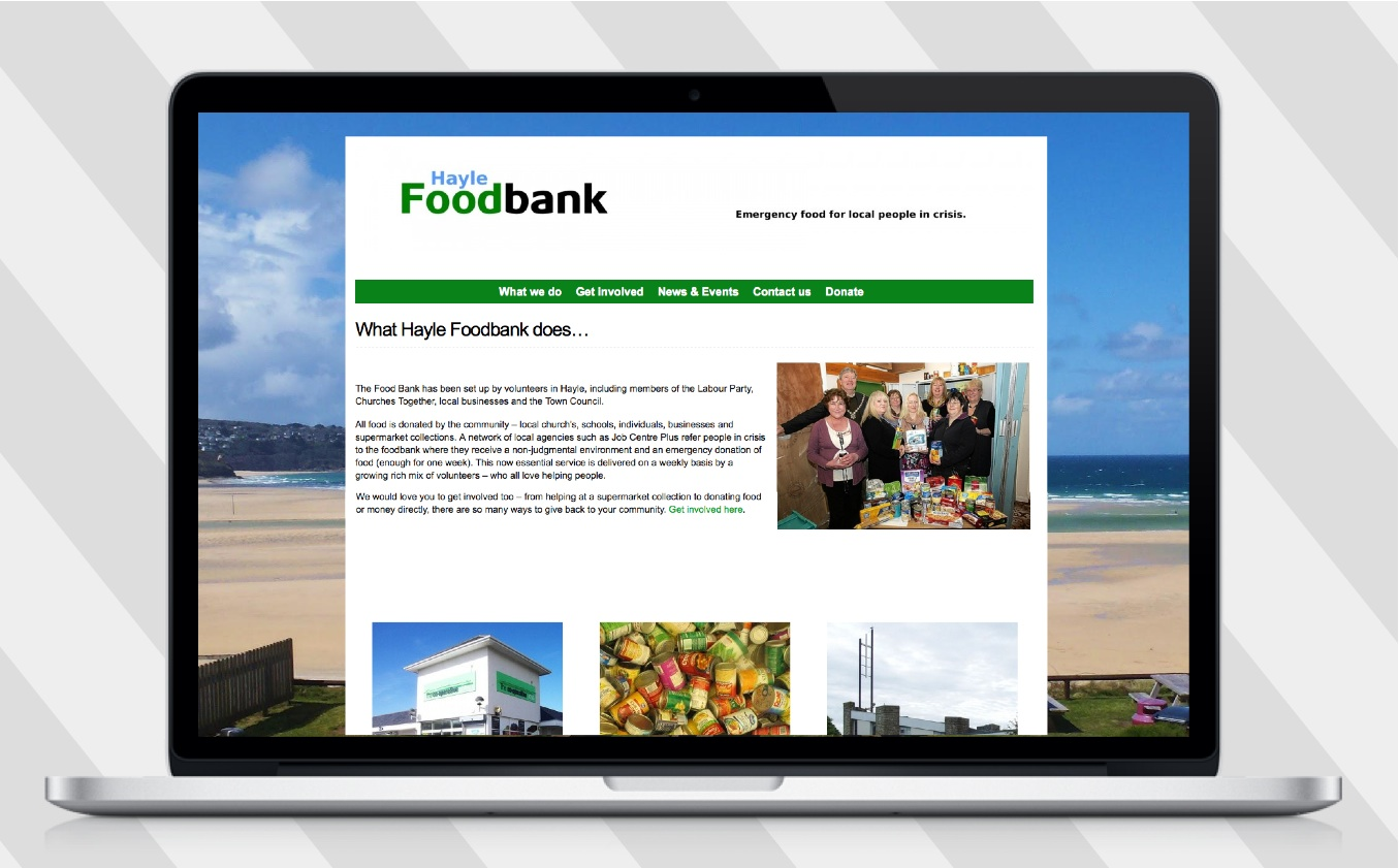 foodbank website
