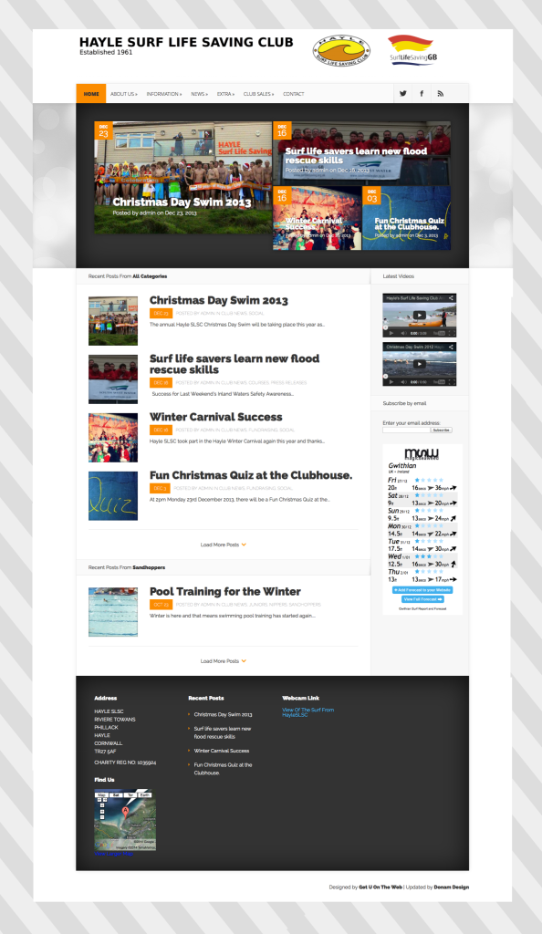 hayle slsc homepage website