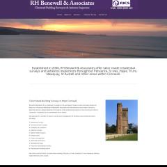 Building Surveyor Cornwall Website Redesign
