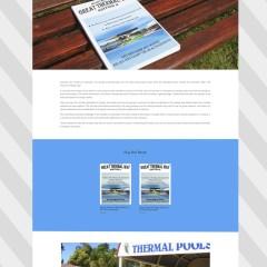 Great Thermal Way – Book Website Design