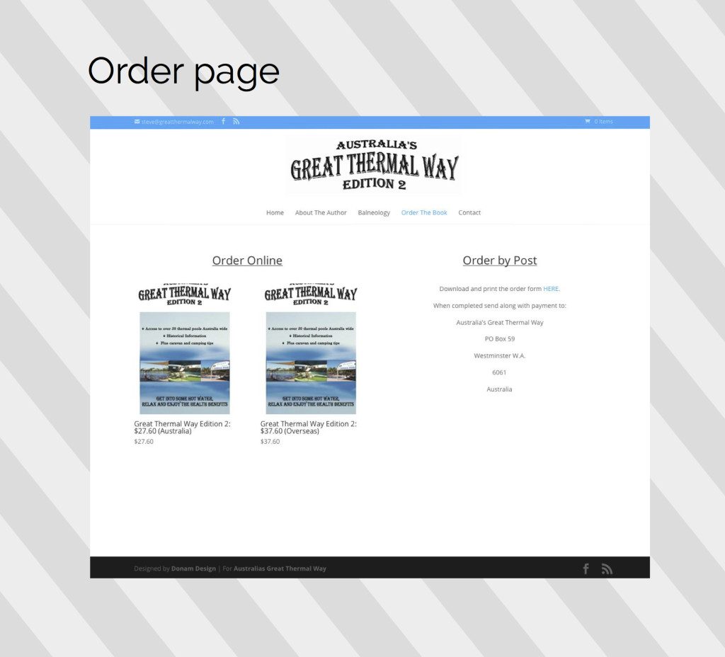 great thermal way order page
